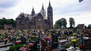 Sprzątanie grobów - Cmentarz w Kochłowicach